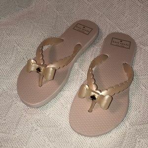 Kate Spade flip flops pink size 8